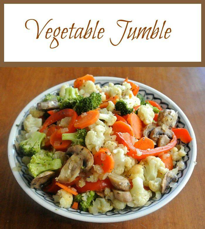 Vegetable Jumble is a mixture of all the best and most popular vegetables. Steamed to perfection!
