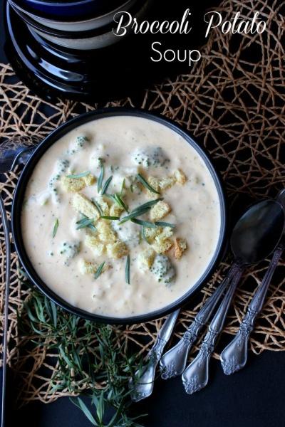 Healthful Tips and Broccoli Potato Soup