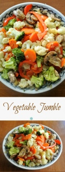 Vegetable Jumble is a mixture of all the best and most popular vegetables. What makes it stand out are the wonderful spices.