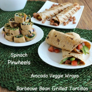 Grilled Wrap Tortilla Trio