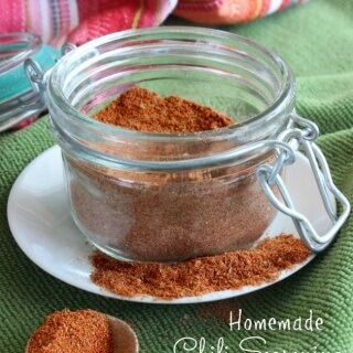Homemade Chili Seasoning Mix is easy. Two tablespoons equals one of those packets you buy at the store and it will keep a year in your cupboard!
