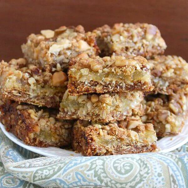 Pina Colada Crumb Bars are three layers of goodness that just happen to have a fun name.