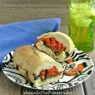 Stuffed Baguette Sandwich