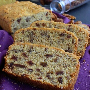 A simple quickbread that also has dates and pecans