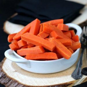 Easy Pickled Carrots are quick and tasty. Sweetened just right!