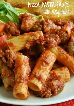 A red sauce with a nice new twist. Made from scratch with vegetables and sauces. Perfect!