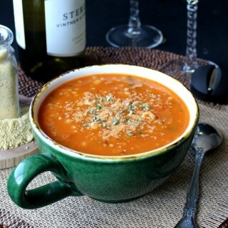 Couscous Minestrone Soup