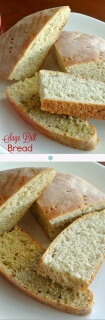 Sage Dill Bread has a generous addition of sage, dill & fennel. Makes a really tasty bread.