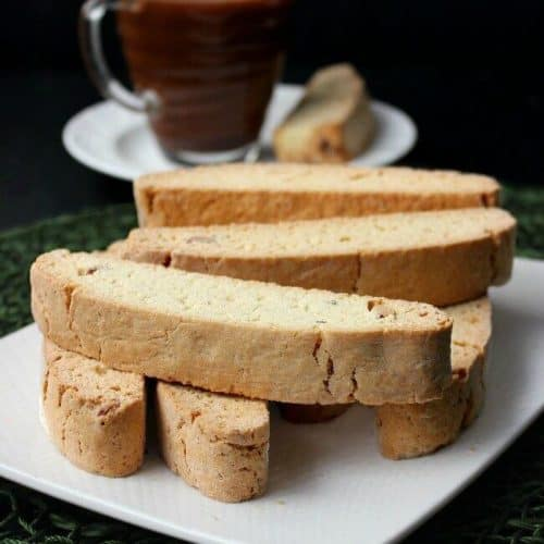 Vanilla Almond Biscotti {Starbucks Copycat} is a real treat.