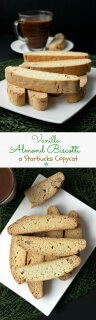 Vanilla Almond Biscotti {Starbucks Copycat} is much easier than you think and besides coffee they are great to dunk in hot chocolate.