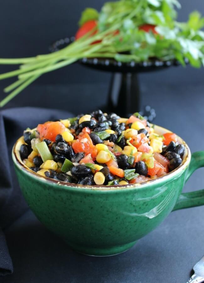 Fully Loaded Black Bean Salad
