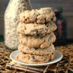 Nut Free Oatmeal Chocolate Chip Cookies will become a family favorite. Fill up your cookie jar with a classic drop cookie.