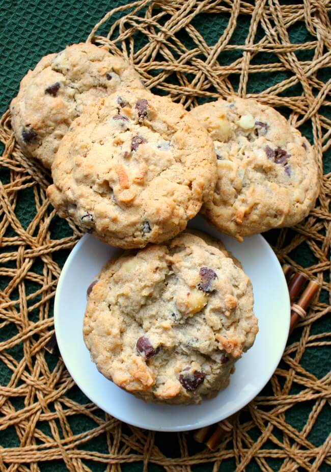 Nut Free Oatmeal Chocolate Chip Cookies has healthier ingredients and the cookies will become a family favorite.