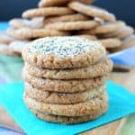 Lemon Poppy Seed Cookies have a mild lemony flavor that will wake up your tastebuds.