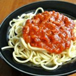 Spaghetti Sauce is one of those recipes that the crock pot was made for. The sauce is best when cooked low and slow so the two are a match made in heaven.