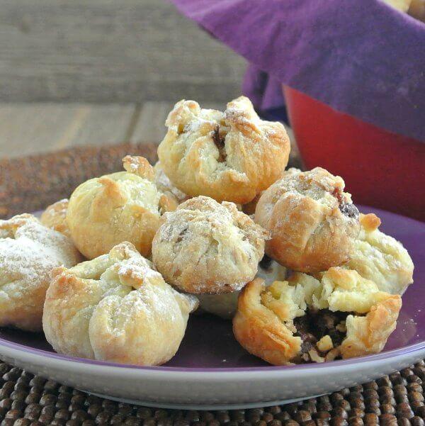 Chocolate Stuffed Cookies – Vegan Christmas Cookies