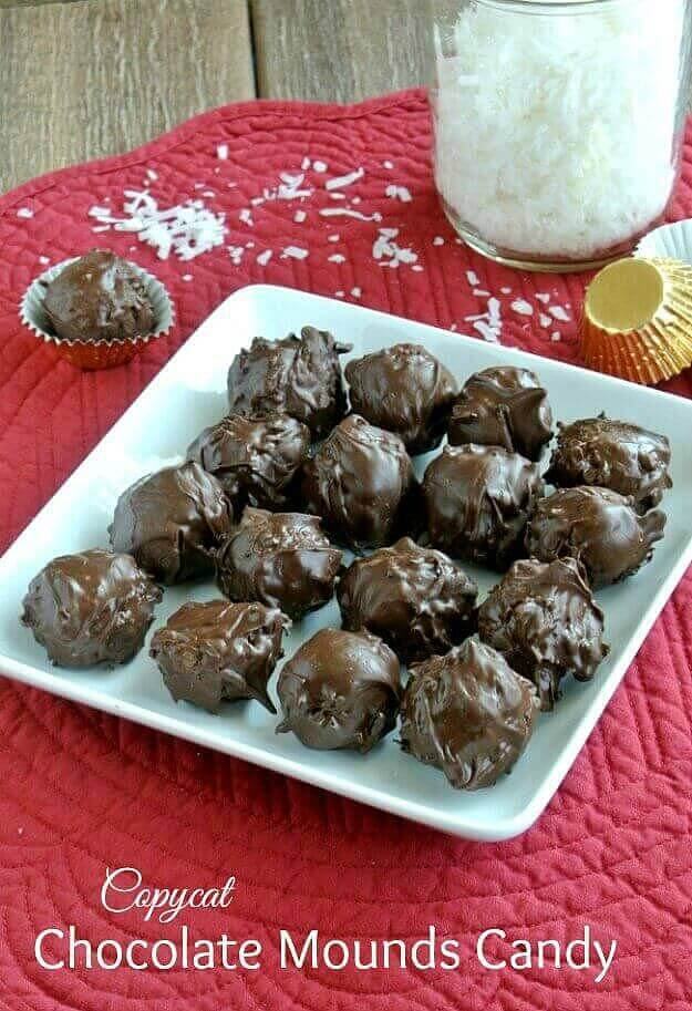 Chocolate Mounds Candy Balls recipe is based on the Mounds Bar. Four ingredients is all it takes to make a candy bar classic.