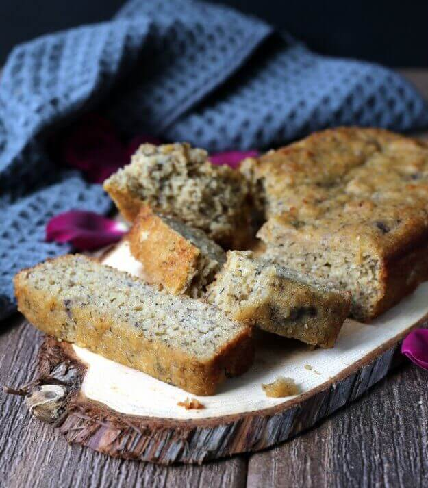 Moist Gluten-Free Banana Bread melts in your mouth.