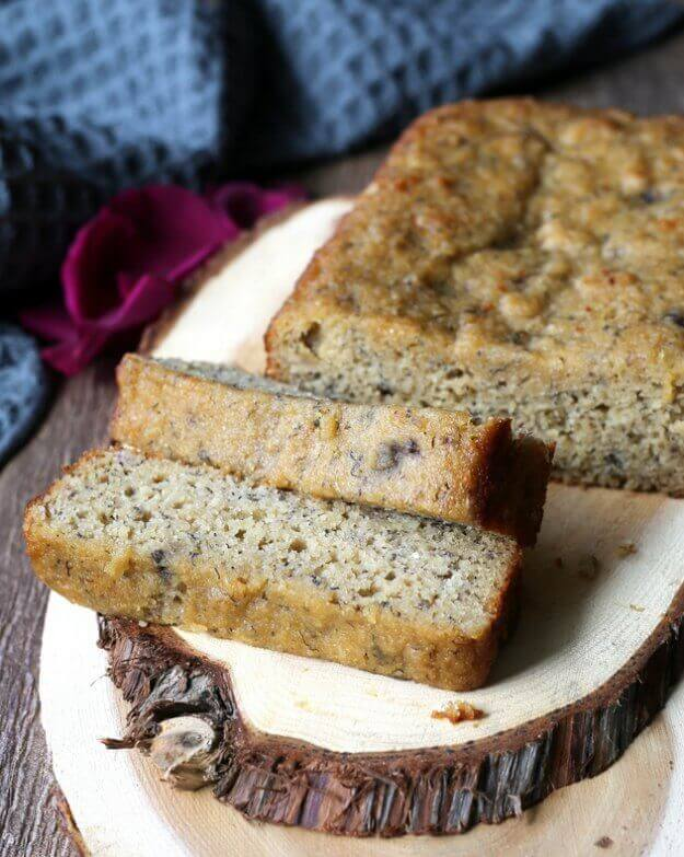 Moist Gluten-Free Banana Bread is something that can be enjoyed by Everyone. Light in texture, this quick bread perfection.