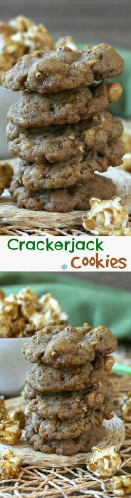 Crackerjack Cookies bring back lots of good memories.