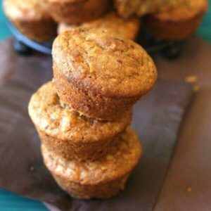 Apricot Muffins have little bits of sweet dried apricots inside and it makes all the difference in the world.