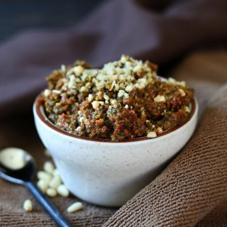Vegan Sun Dried Tomato Pesto