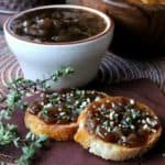 Balsamic Caramelized Onion Crostini is a slightly spicy and highly flavorful appetizer.