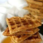 Apple waffles are perfect for that special morning when you want to have something out of the ordinary. Easy and loaded with apple on the inside!