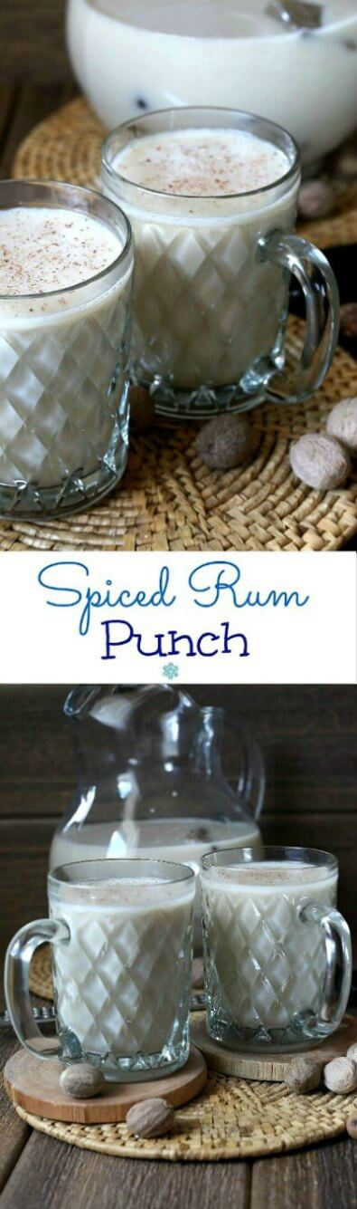 Spiced Rum Punch with Silk Nog is a uniquely tasty and refreshing punch! It goes down so easy with a sweet and nutty spiced kick. imageSpiced Rum Punch with Silk Nog is a uniquely tasty and refreshing punch! It goes down so easy with a sweet spiced kick.