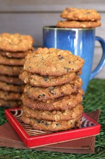 Orange Cranberry Cookies have mild fruit flavors that blend perfectly with the sweet cookie dough. Easy to make so Have a Cookie!