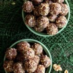 That's right! Not rum balls but Spiced Rum Balls. These little suckers are so good! A lot of simple ingredients that mix so well and taste so amazing.
