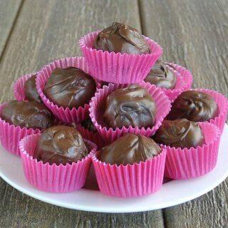 Cashew Butter Chocolate Truffles