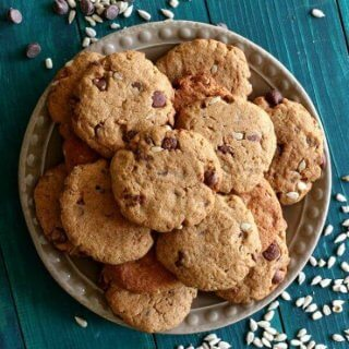 Sunflower Seed Chocolate Cookies are chocolaty a nice surprise of sunflower seeds. Bake a few dozen for your cookie jar and your tummy.