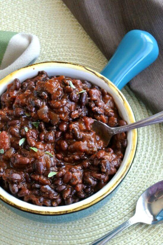 Slow Cooker Black Bean Chili Recipe Vegan In The Freezer