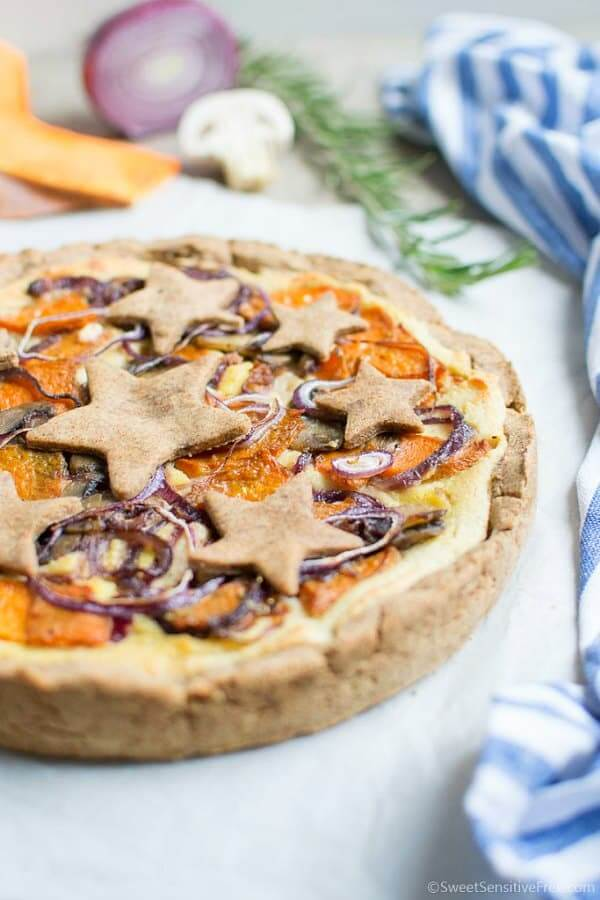 Rustic Vegetable Pie | Gluten-free