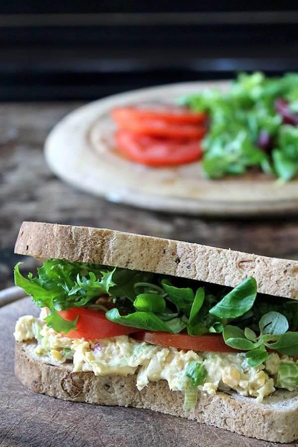 Recipe: Vegan Tuna Mayo (Tuna Salad) Sandwich