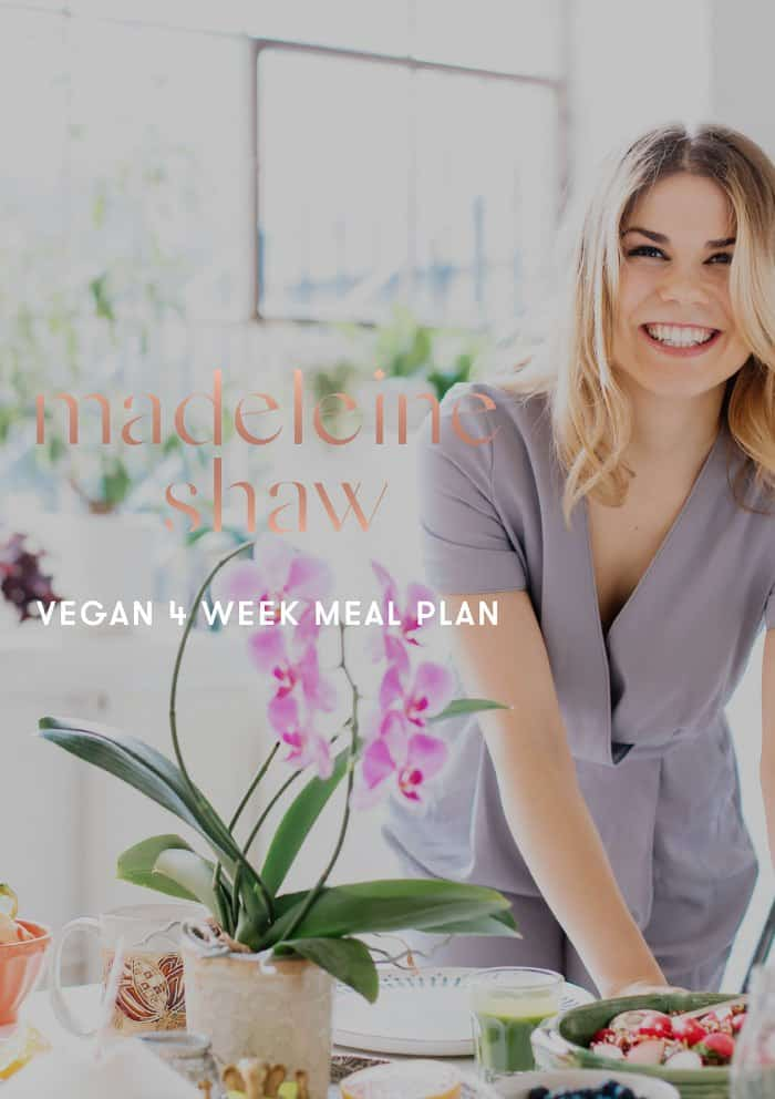 Cover photo of smiling Madeline for eBook on meal plans.