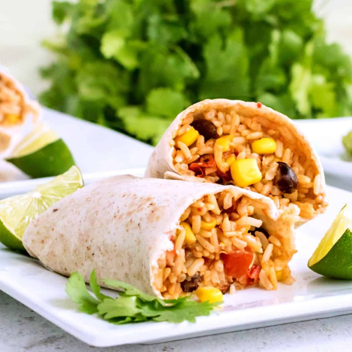 Slow Cooker Black Bean Burritos Recipe Vegan In The Freezer